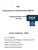 DBGM Assignment Rules  Practices