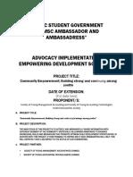 ambassadress advocacy implementation final.docx