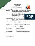 Activity Design kk assembly blank