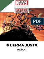 MHRPG - Guerra Justa - Acto 1
