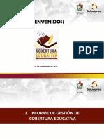 INFORME COBERTURA EDUCATIVA. 25 NOVIEMBRE 2019.pptx