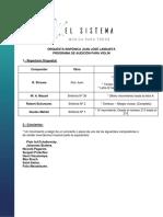 Programa Audiciones 2020