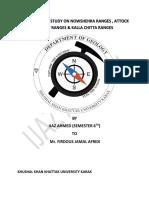 Ijaz Ahmed Field Report ACR