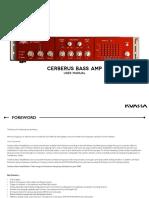 CerberusBassAmp Manual