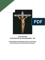 Postulación PES Semana Santa Popayán
