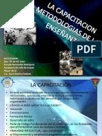 LA CAPACITACION METODOLOGIAS DE LA ENSEÑANZA