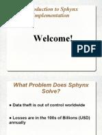 20170628 Sphynx Presentation v0