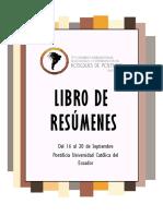LIBRO DE MEMORIAS CVIP2019 QUITO-ECUADOR