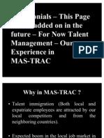 Testimonials - Talent Management