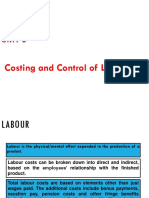 CMA-Unit 3-Costing of labour 18-19