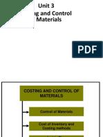 CMA-Unit 3-Costing of Materials 18-19