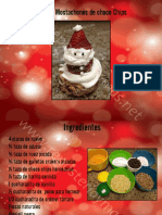 Curso de Mini Mostachones de  choco chips navideño