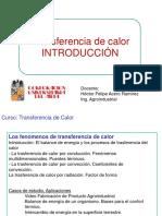 Introducción - Transferencia de Calor Conducción estado transitorio.ppt