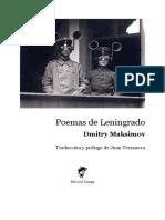 Poemas del sitio de Leningrado