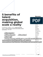 5 benefits of talent acquisition, making global scale a reality - Hudson RPO.pdf