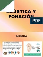ACUSTICA Y FONACIÓN