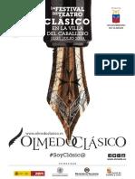 Festival de Teatro Olmedo Clásico 2019 - Catálogo