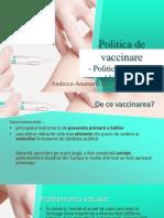 Politica de Vaccinare