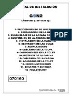 Manual Inst. GeN2 Comfort