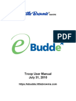 eBudde - Troop User Manual
