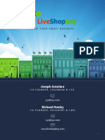 LiveShopBuy - Business Plan Sample