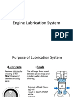 Lubrication System for an Automobile