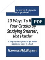 10 Ways to Raise Your Grades
