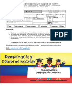 GUIA GOBIERNO ESCOLAR Y MANUAL DE CONVIVENCIA