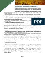 LIÇÃO 21 - OS TRÊS FATORES DE REVOLUÇÃO DA CONSCIÊNCIA