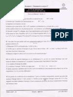 TD Tehermodynamique 2 SMP S4