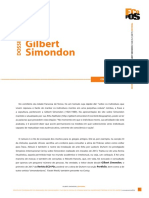 Dossiê Gilbert Simondon