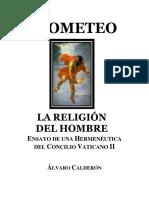 PROMETEO. La Religión del Hombre. Ensayo de una Hermenéutica.docx