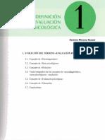 Concepto y definicion de evaluación psicologica.pdf