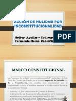 Accion por inconstitucionalidad- Solbey Aguilar y Feernando Marin