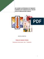 GUIA DE TOMA DE SIGNOS VITALES TALLER DE SIMULACION