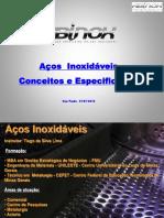Apresentação Conceitos e Especificacão de Aços Inoxidaveis 2015 - Abinox