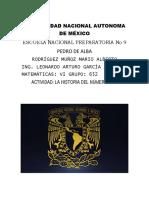 Rodríguez Muñoz Mario Alberto(652) Historia 1