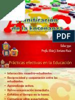 4. Planificación de la enseñanza