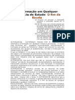 A Formação em Qualquer Instancia de Estudo.doc