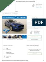 2017 Ford Mustang V6 Fastback For Sale in Leavenworth, KS _ USAA