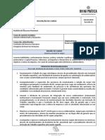 Modelo Descrição de Cargo - Administrativo