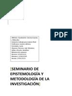 Epistemología - Final