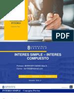 2. INTERES SIMPLE - INTERES COMPUESTO virtual