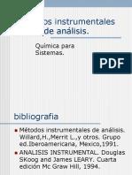 Métodos instrumentales de análisis