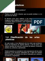 Clasificación de las artes plásticas