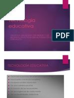 TECNOLOGIA EDUCATIVA1