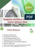 1. Pengantar Sertifikasi Halal_2019