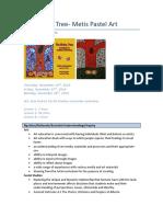 educ 540- art- the giving tree- metis pastel art- lesson plan