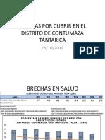 BRECHAS POR CUBRIR EN EL DISTRITO DE TANTARICA