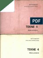 Typewriter Olivetti Tekne4
